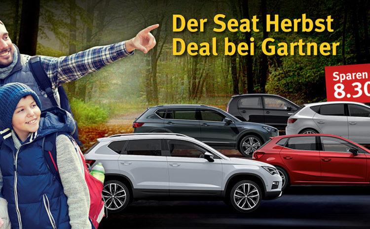 Der Seat Herbst Deal bei Gartner